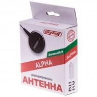 Антенна FM активная внутрисалонная ALPHA