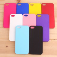Матовый чехол для iPhone 5\5s\se жесткий пластик