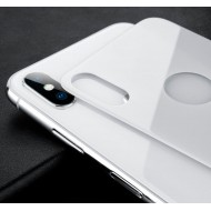 Защитное стекло на iPhone X задняя часть