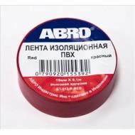 Изолента красная ABRO